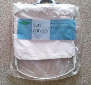 Mothercare sun canopy - New
