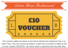 £10 Voucher for Luna Rosa Restaurant