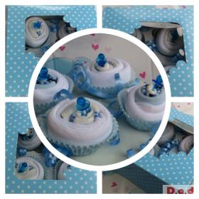 Baby Cupcakes in gift box