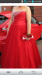 red prom dress size 16