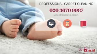 Affordable carpet cleaning Wimbledon